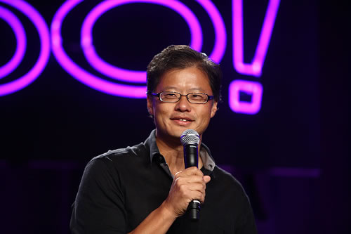 Jerry Yang of Yahoo! at Techpulse