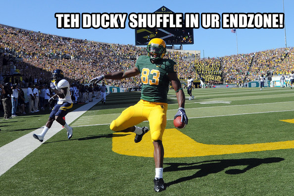 Oregon Ducks Touchdown Dance