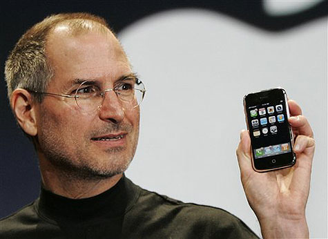 Steve Jobs Presents the iPhone