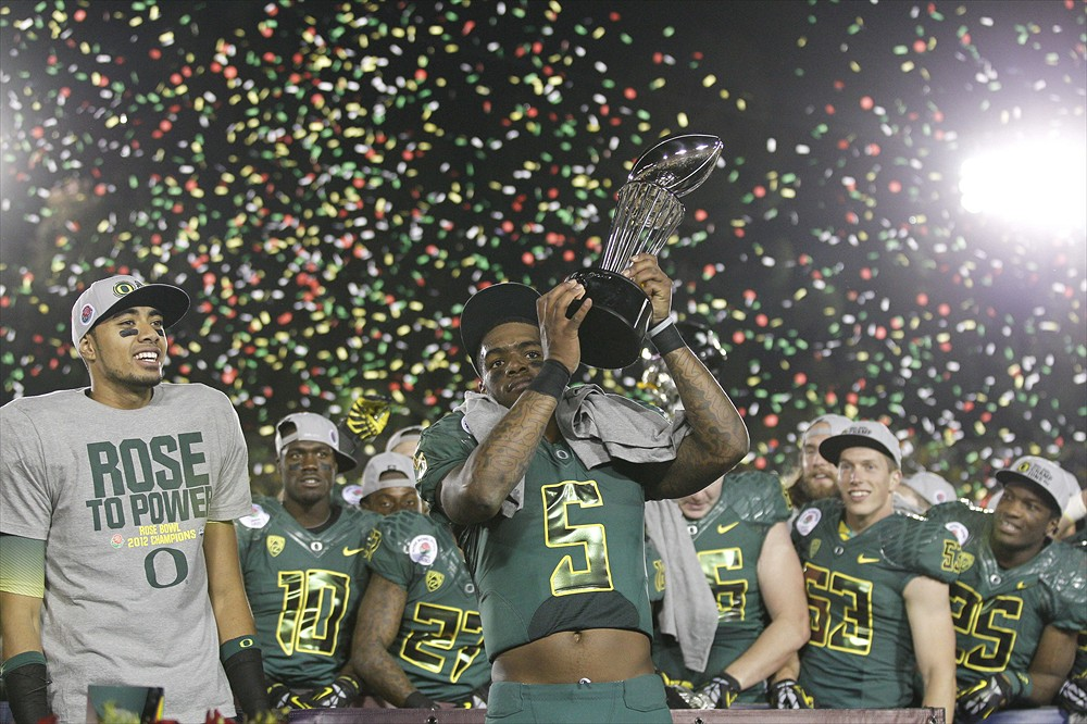 Oregon Ducks 2012 Rose Bowl Champions