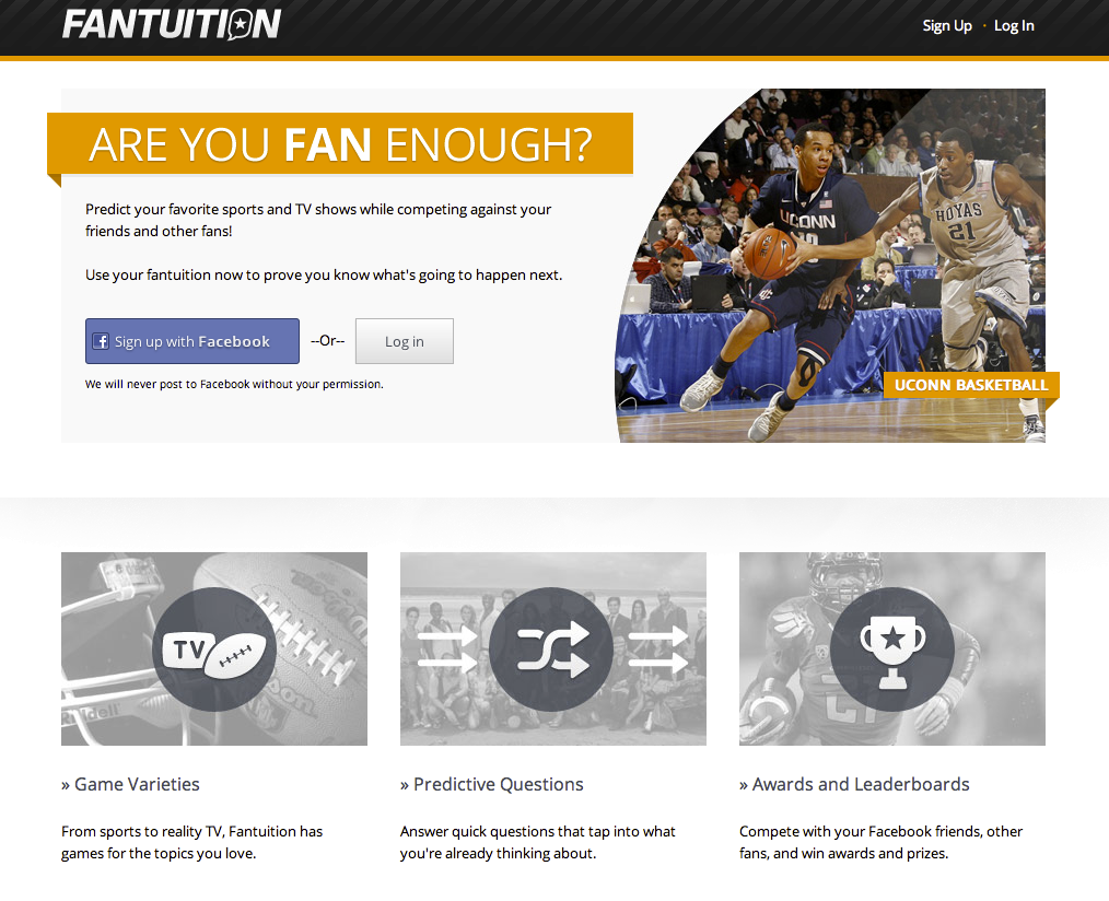Fantuition Home Page